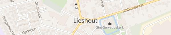 Karte Rathaus Lieshout