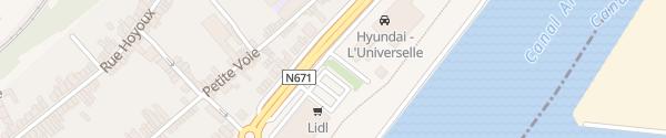 Karte Lidl Herstal