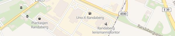 Karte Superwash Randaberg Randaberg