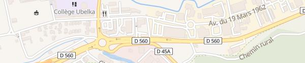 Karte Lidl Auriol