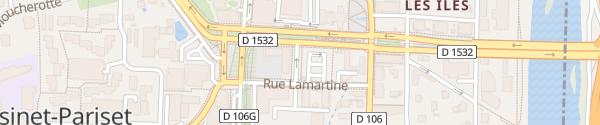 Karte Avenue de la République Seyssinet-Pariset