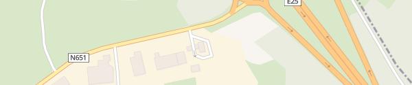 Karte Total Tankstelle Manhay