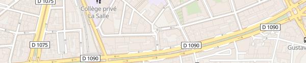 Karte Citélib Rue du Colonel Dumont Grenoble