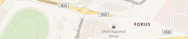 Karte Scandic Hotel Forus Stavanger