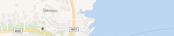 Karte Sjøberg Ferie Rennesøy