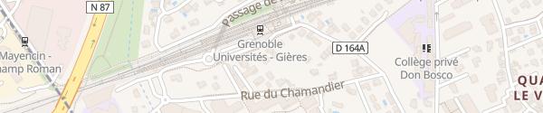 Karte CitéLib Gières Université Gières