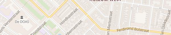 Karte Hobbemastraat 58 Leeuwarden