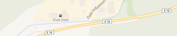Karte Dale industriområde Dale
