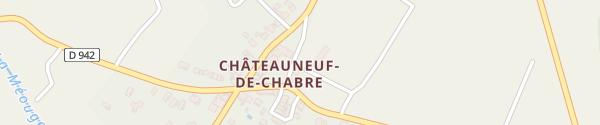 Karte Parking Mairie Châteauneuf-de-Chabre