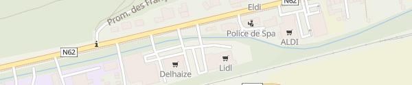 Karte Lidl Spa