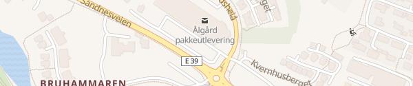Karte Coop Extra Ålgård