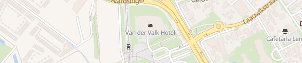 Karte Hotel Van der Valk Nijmegen-Lent Nijmegen