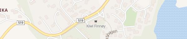 Karte Kiwi Markt Finnøy