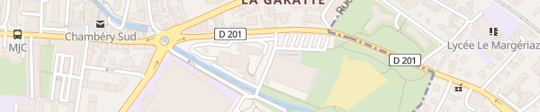 Karte Piscine Chambéry