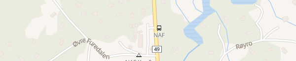 Karte NAF Kvamskogen Norheimsund