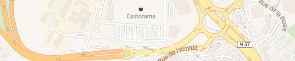 Karte Castorama Besançon École Valentin