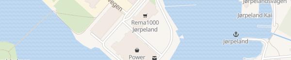 Karte Rema 1000 Jørpeland