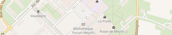 Karte Mairie Meyrin