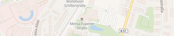 Karte Fachhochschule Aachen