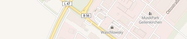 Karte HPC Shell Geilenkirchen