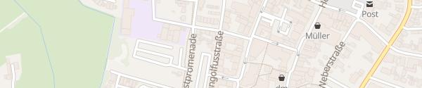 Karte Parkplatz Gangolfusstraße Heinsberg