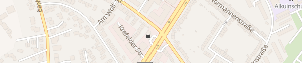 Karte Shell Tankstelle Krefelder Straße Aachen