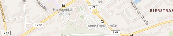 Karte Rathausplatz Herzogenrath