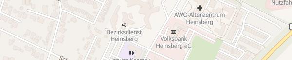 Karte Kreisverwaltung Heinsberg