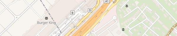 Karte Genève Aéroport Parking P2 Le Grand-Saconnex