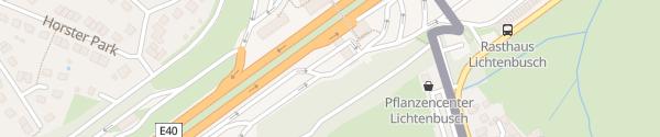 Karte Lichtenbusch Süd Raeren