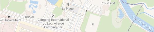 Karte Avenue des Rives du Lac Vaivre-et-Montoille