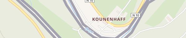 Karte Camping Kohnenhof Eisenbach
