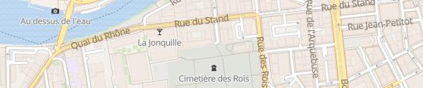 Karte Hotel des Finances Genève