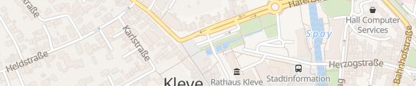 Karte Koekkoekplatz Kleve