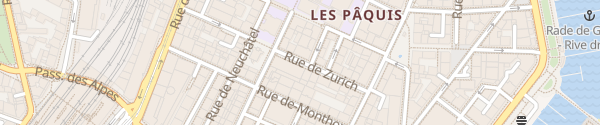 Karte Novotel Genève