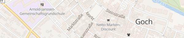 Karte Marktplatz Goch