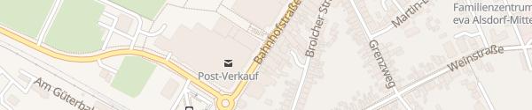 Karte Bahnhofstraße Alsdorf