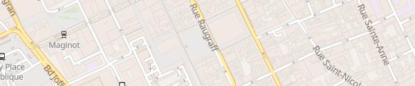Karte Place Charles III Nancy