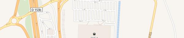 Karte IKEA Metz La Maxe