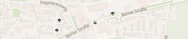 Karte REWE Brüggen
