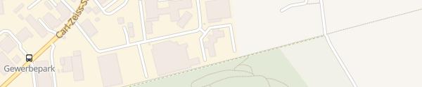 Karte EDS Office Alsdorf