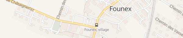 Karte Founex Founex
