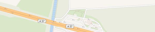 Karte Kalbecker Forst Ost Weeze