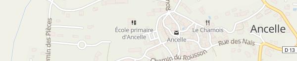 Karte Le Village Ancelle
