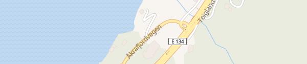 Karte Åkrafjordtunet Markhus