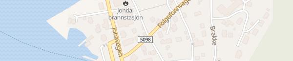 Karte Coop Prix Jondal