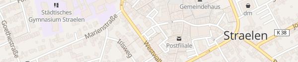 Karte Klosterplatz Straelen