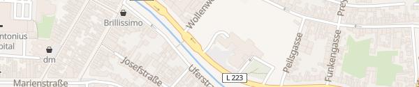 Karte Johannes-Rau-Platz Eschweiler