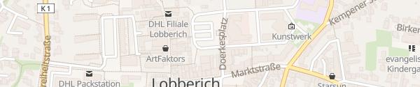 Karte Parkplatz Doerkesplatz Nettetal