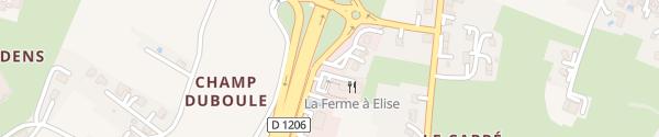Karte Restaurant La Pizzaiola Saint-Cergues